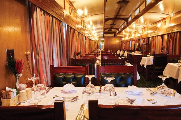 Restaurant du Train Shongololo Express