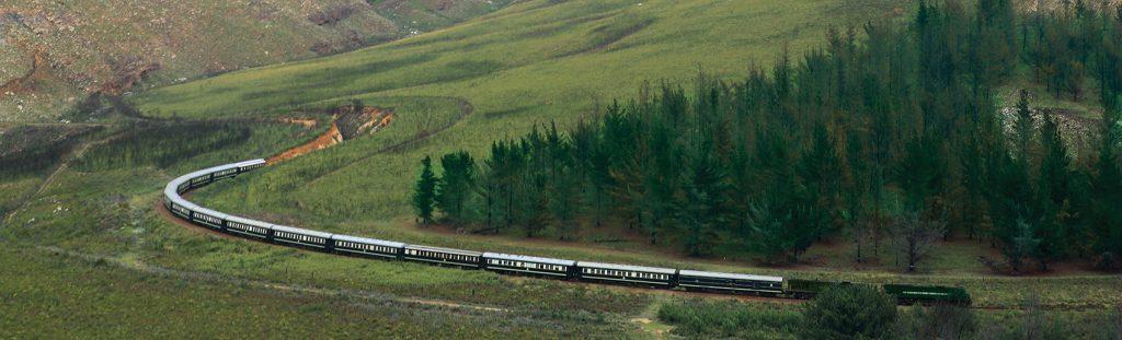 Train Shongololo en campagne