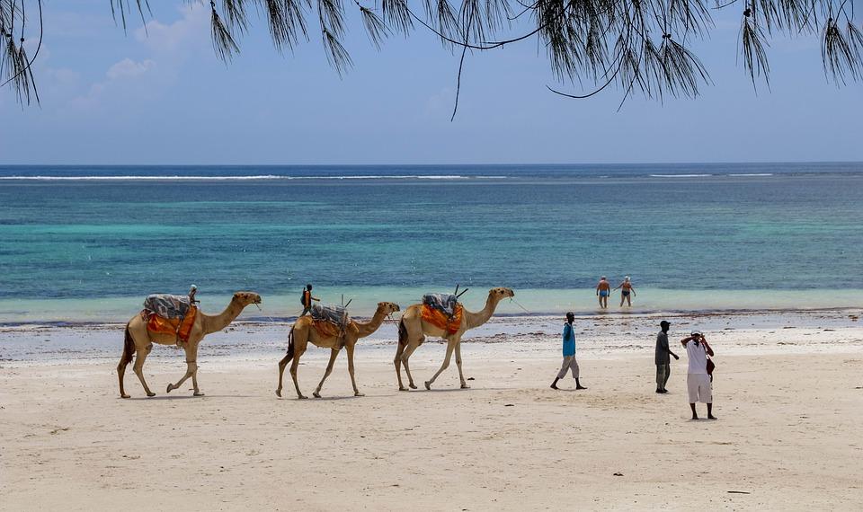 Diana Beach au Kenya