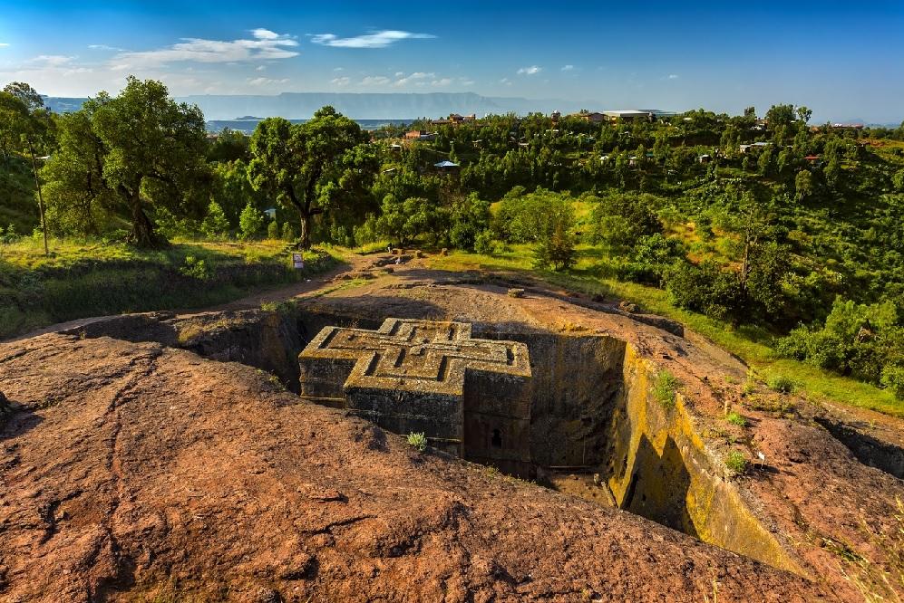 Lalibela en Ethiopie