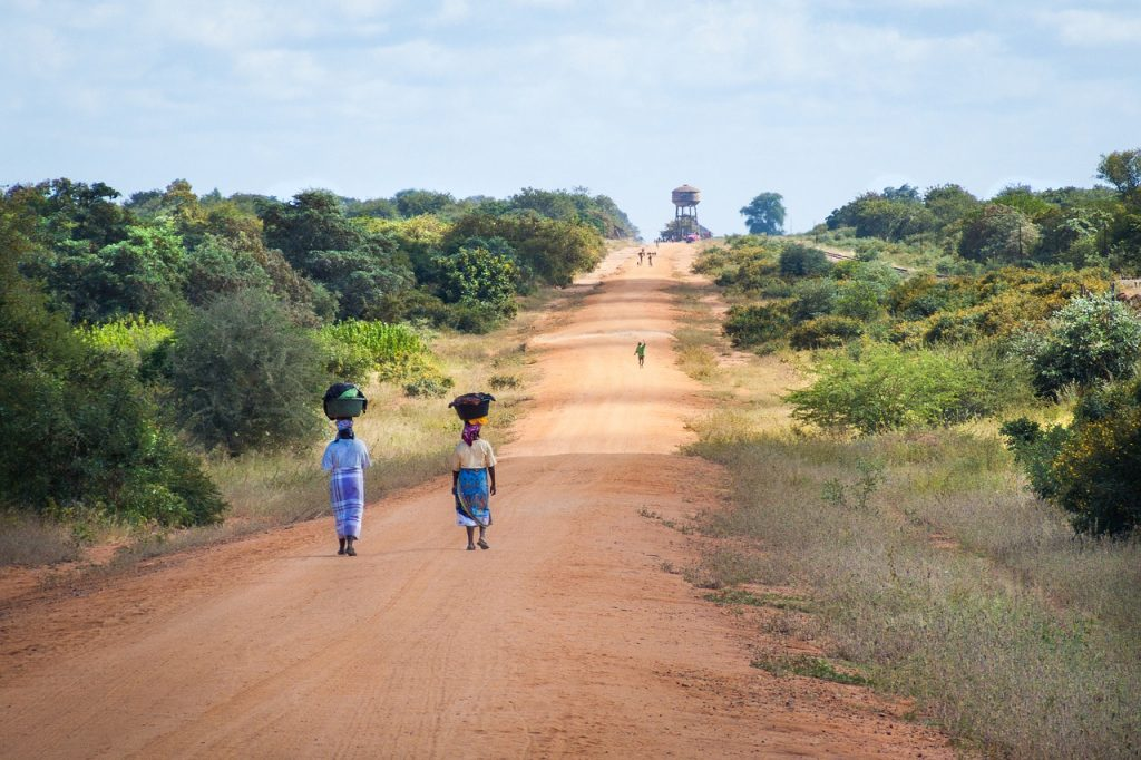 Route Mozambique