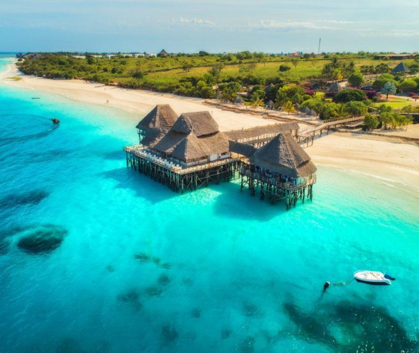 Plage de Zanzibar