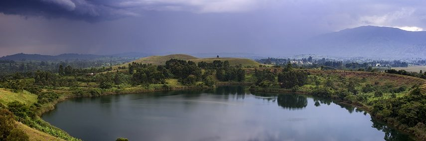 Montagne Rwenzori en Ouganda